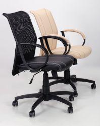 Кресло Лайт Net LB Софт АМФ-8 Неаполь N-20 нитка белая/спинка Сетка Оранжевая нитка белая - интерьер - фото 3