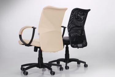 Кресло Лайт Net LB Софт АМФ-8 Неаполь N-20 нитка белая/спинка Сетка Оранжевая нитка белая - интерьер - фото 6
