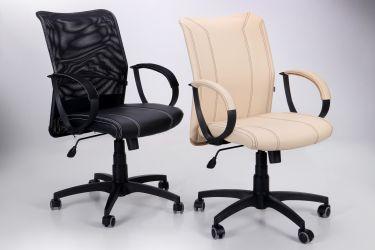 Кресло Лайт Net LB Софт АМФ-8 Неаполь N-20 нитка белая/спинка Сетка Оранжевая нитка белая - интерьер - фото 8
