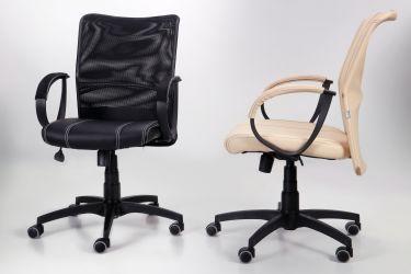 Кресло Лайт Net LB Софт АМФ-8 Неаполь N-20 нитка белая/спинка Сетка Оранжевая нитка белая - интерьер - фото 10