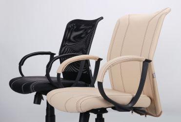 Кресло Лайт Net LB Софт АМФ-8 Неаполь N-20 нитка белая/спинка Сетка Оранжевая нитка белая - интерьер - фото 11