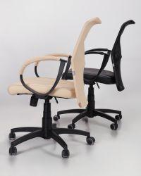 Кресло Лайт Net LB Софт АМФ-8 Неаполь N-20 нитка белая/спинка Сетка Оранжевая нитка белая - интерьер - фото 12