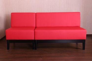 Диван Квадро угловой на деревянном каркасе (Н250) венге 670*670*850Н Неаполь N-08 - интерьер - фото 9