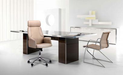 Кресло Madison хром, тк.серый - интерьер - фото 2