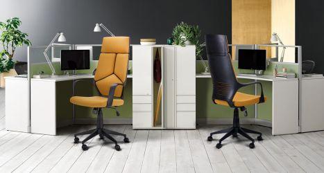 Кресло Urban HB белый, тк.черный - интерьер - фото 3