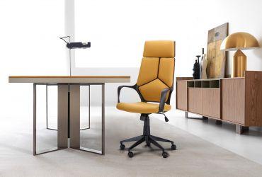 Кресло Urban HB белый, тк.черный - интерьер - фото 2