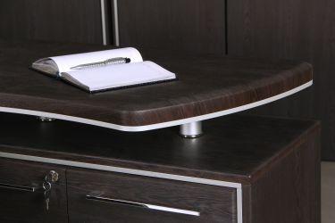 Шкаф книжный Оникс 900х400х2172 Венге прованс - интерьер - фото 6