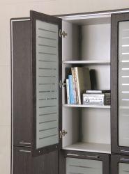Шкаф книжный Оникс 900х400х2172 Венге прованс - интерьер - фото 14