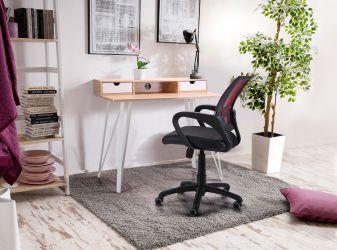 Кресло Веб сиденье Сетка черная/спинка Сетка синяя - интерьер - фото 2