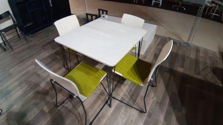 Стол Frame 120х60 черный графит/фанера - интерьер - фото 2