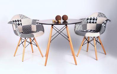 Кресло Salex FB Wood Patchwork - интерьер - фото 10