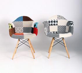 Кресло Salex FB Wood Patchwork - интерьер - фото 18