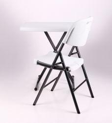 Стол Грув 76*50*42.5-70 пластик белый - интерьер - фото 1