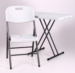 Стол Грув 76*50*42.5-70 пластик белый - интерьер - фото 3