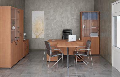 Кресло Роял Люкс вишня Неаполь N-20 - интерьер - фото 2
