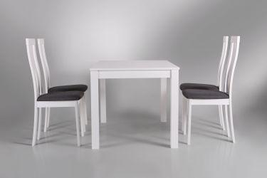 Стол обеденный раздвижной Норман белый - интерьер - фото 4