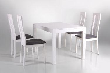Стол обеденный раздвижной Норман белый - интерьер - фото 5