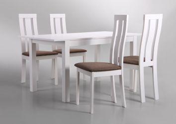 Стол обеденный раздвижной Норман белый - интерьер - фото 12