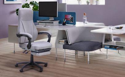 Кресло Smart серый - интерьер - фото 1