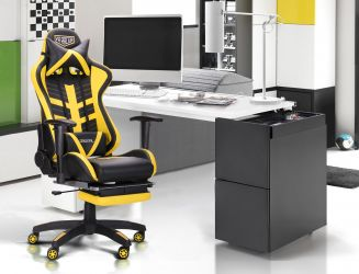 Кресло VR Racer Original Dazzle черный/камуфляж - интерьер - фото 1