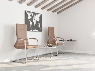 Кресло Marc HB Black - интерьер - фото 4