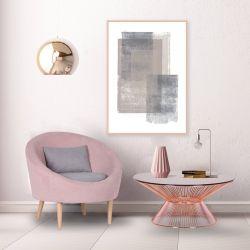 Кресло Eclipse Сидней серый 20,черный 7, подушка черный 7 - интерьер - фото 1