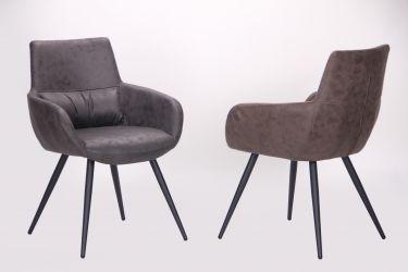 Кресло Concord черный/cowboy PK базальт - интерьер - фото 4