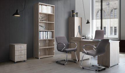 Кресло Фридом Черный графит Неаполь N-24 - интерьер - фото 2